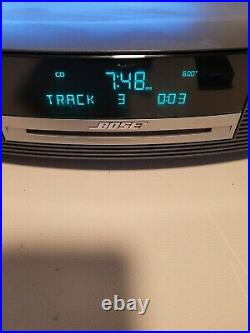 Nice BOSE Wave Music System Speaker CD Player FM AM Radio with Remote