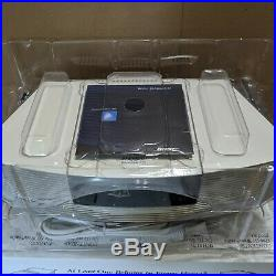 RARE NEW WITH BOX Bose Wave Radio CD Platinum White Remote AWRC-1P Collectable