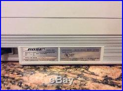 Rare Bose Vintage Acoustic Wave Model Aw-1 Tape Deck Radio + Auxiliaries