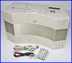 SWEETBose CD-3000 Wave Music System Radio Disc Player-REMOTE! IPod CordTESTED